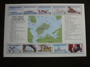 Stamps - St. Vincent - Grenadines - Scott# 818 - Souvenir Sheet