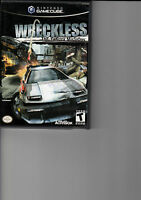 Wreckless: The Yakuza Missions  (Nintendo GameCube, 2002) with case