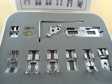11 pcs Snap On Presser Foot Pfaff 1147,1150,1151,1171,1469,1018, 1019 with IDT