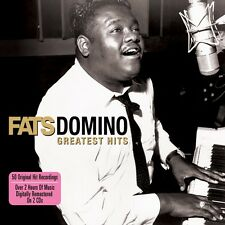 Fats Domino GREATEST HITS Best Of 50 Original Recordings ESSENTIAL New 2 CD