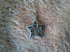 GOOD LUCK IRISH 2 STAR with 3 LEAF HEART CLOVER PEWTER ZIPPER-PULL or PENDANTS