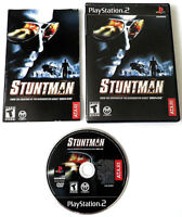 STUNTMAN PLAYSTATION 2 GAME COMPLETE MANUAL CASE RACING CIB PS2 TESTED WORKING