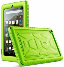 Amazon Fire 7 2019 Tablet Case Poetic Soft Silicone Protective Cover Green