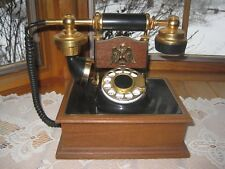Vintage 1984 EARLY AMERICAN Eagle ROTARY TELEPHONE Northwestern Bell Company