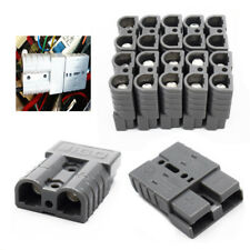 10PCS Battery Quick Connector Kit 50A 6AWG Connect Disconnect Winch Trailer Well