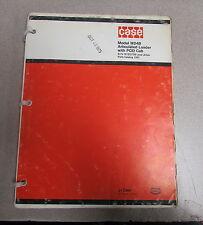 Case W24b Articulated Loader Pod Cab Parts Catalog Manual 1307 1975 910798