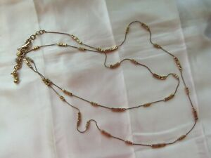 Chico's Gold Tone Necklace #jewelry #fashion #necklace
