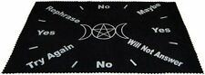 Large Velveteen Triple Moon Pendulum Dowsing Divination Mat Wiccan  FREE SHIP