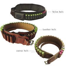Cinturón Cartuchos tourbon para 12GA titular munición portador conchas de Nylon/Lona/Cuero