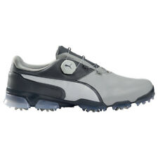 NEW Mens Puma TitanTour Ignite Disc Golf Shoes Gray / Steel Gray Sz 9 M