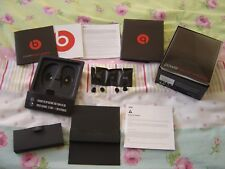 Beats by Dr.Dre Powerbeats 2 Earphones PACKAGING & Silicone Ear Tips (Ref X)