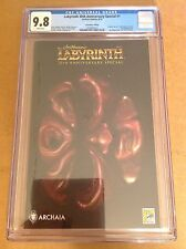CGC 9.8 Labyrinth 30th Anniversary Special #1 SDCC Convention Edition