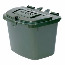Green Kitchen Compost Caddy Bin - Food Recycling (7 Litre) 7L