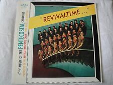 REVIVALTIME MUSIC OF THE PENTECOSTAL CHURCHES VINYL LP WORD RECORDS THE HEALER
