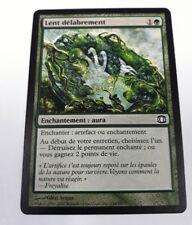 carte magic the gathering mtg - lent délabrement - vision de l'avenir - commune