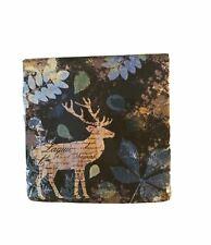 New ListingRustic Deer Paper Napkins 40 Ct Dinner Leaves Winter Holidays