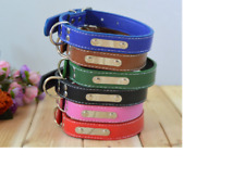 Strong Adjustable Leather Collar Dog Collar Cute Puppy Collar