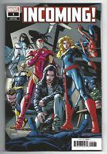 Incoming #1 2019 Unread 1st Print Dustin Weaver Variant Marvel Comics Al Ewing