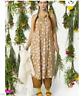 new GUDRUN SJODEN Arontorp XS dress eco organic cotton floral midi Sleeveless