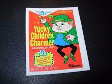"RON ENGLISH POPAGANDA Cereal Yucky Charm 2.5"" Sticker decal frm poster art print"