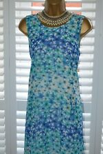 ~ CALVIN KLEIN ~ Gorgeous Loose Dress Size UK 16 US 14 Suit Mother of the Bride