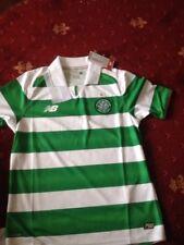 Celtic home FOOTBALL shirt S/S ( 9-10 ) M B new R.R.P £39.99 GLASGOW CELTIC