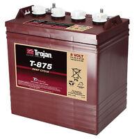 Trojan T-875 GC8 8V 170Ah Deep Cycle Flooded Lead Acid Battery