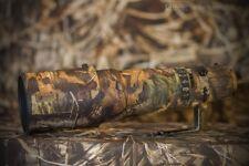 Nikon Nikkor AF-S VR 500 F/4G ED lenscoat neoprene cover camouflage lens coat
