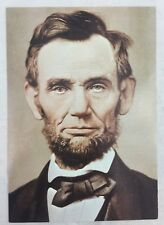 Vintage Postcard 16th President Abraham Lincoln Portrait Civil War Photography