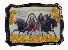 Künstlerische Malereien mit Pferde-Motiv aus Holz