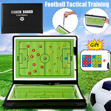 Folding Magnetic Coaching Training Board Tactical Soccer Football With Marker