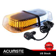 240 LED Emergency Warning Car Truck Roof Top Strobe Snow Plow Light Amber/White