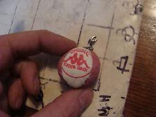 Vintage HACKY SACK item: tiny key chain, KAPPA SACK