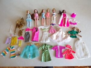 Vintage Lot DAWN TOPPER DOLLS & Friends + Clothes and Accessories   (B)
