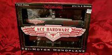 Ace Hardware Ertl 1927 Ford Tri-Motor Monoplane coin bank