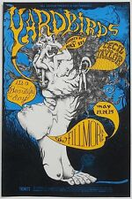 MINT Yardbirds It's A Beautiful Day 1968 BG 121 Fillmore Poster