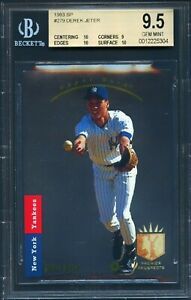 1993 SP Foil #279 Derek Jeter RC Rookie HOF BGS 9.5 POP 1 ONLY HIGHEST GRADED