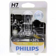 H7 Philips Vision Moto bis zu 30% mehr Licht Motorradlampe 12972PR Blister 1 St.