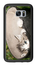 Curious Kitten Peek A Boo For Samsung Galaxy S7 G930 Case Cover by Atomic Market
