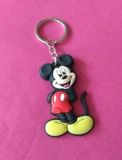 mickey mouse cartoon pvc soft keyring kids party bag fillers Disney