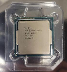Intel Core i5-4570 CPU 6M Cache, 3.20GHz 84W LGA1150 SR1QJ Quad Core Processor