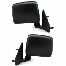 New Set Of 2 LH & RH Side Non Heated Manual Mirror Fits Pathfinder D21 Pickup