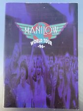 Barry Manilow Original 1996 World Tour Book Concert Program Music Collectible!
