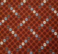 Scrappier Dots BTY Judie Rothermel Marcus Civil War Blue Cream Reddish Brown