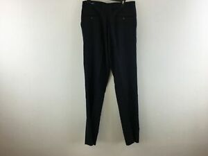 Men's Joseph & Feiss Gold Exceptional Value Pleated Front Pants - Size 33- Blue