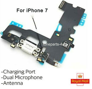 For iPhone 7 Charging Port Charger Flex USB Dock Microphone Antenna Cable UK