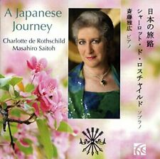 Charlotte de Rothschild (soprano) - A Japanese Journey - songs by [CD]