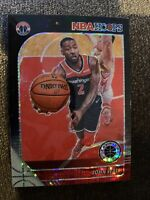 2019-20 NBA Hoops Premium Stock Black Pulsar #191 John Wall Wizards /50 PR