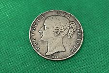 1844 Great Britain Crown Victoria Head .925 silver coin