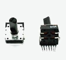 10KOhm, PCB Mount Dual Potentiometer - Lot of 100 ( 98P100 )